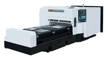 Mazak Introduces the Compact STX Champion 2.5kW Laser Cutting System